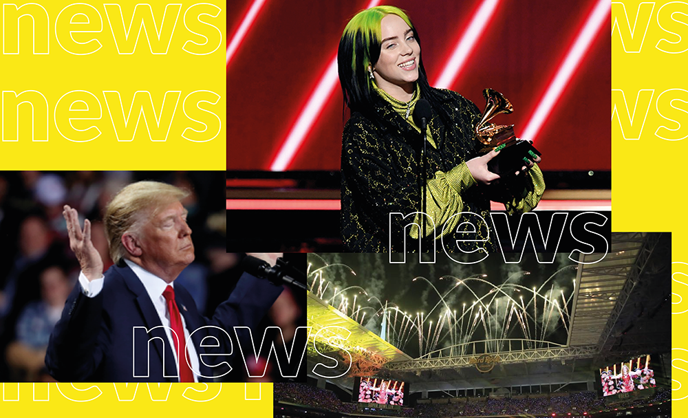 Latest news: Trump, The Super Bowl and Grammy